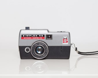 Simplex 45 motorized electric eye Vintage Film Camera