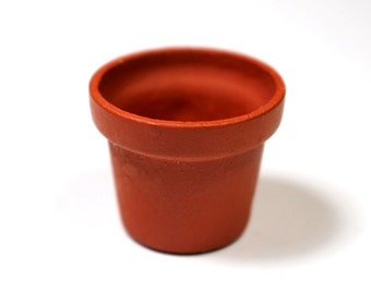 Miniature Terracotta Flower Pot