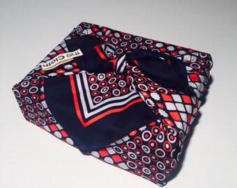1 furoshiki / écharpe / vintage écharpe