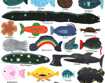 Seacreatures unlikely found in Skagerrak