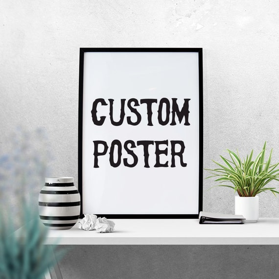 Poster size print out