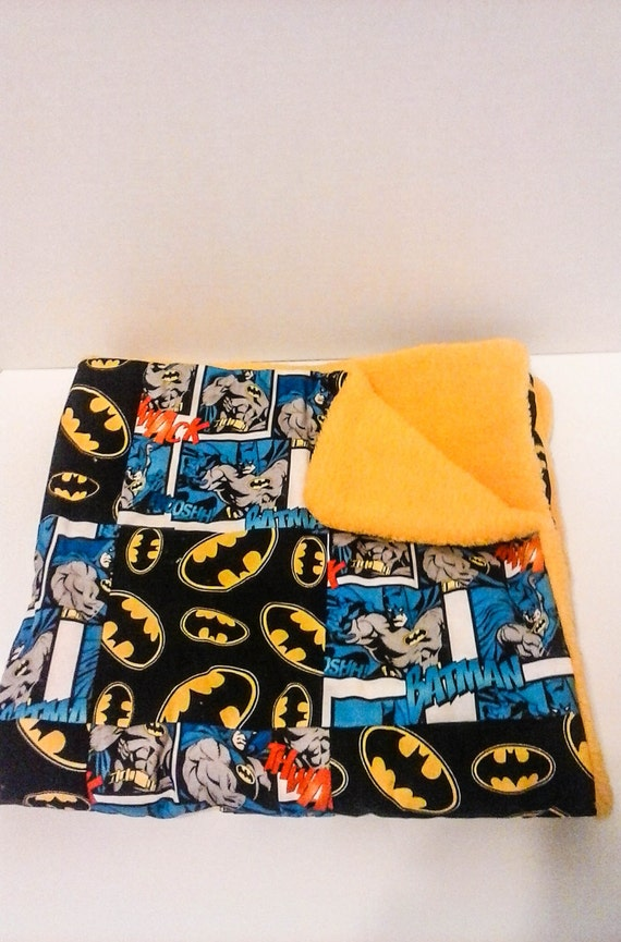 Couverture b b en laine polaire dc comics par for Couverture jetable en laine polaire ikea