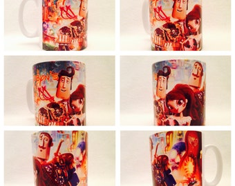 personalised mug cup the book of life mexican day of the dead percent gift