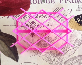 Rhombus Fondant Cutter/Embosser