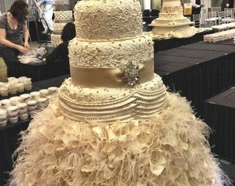 CAKE BASE FAUX