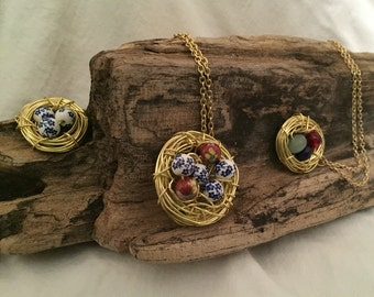 Bird's Nest Necklace
