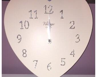 Crystal Vintage Clock