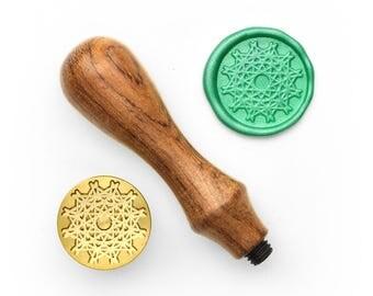 Mandalas Pattern - 10 - Design OD Wax Seal Stamp (DODWS0322)