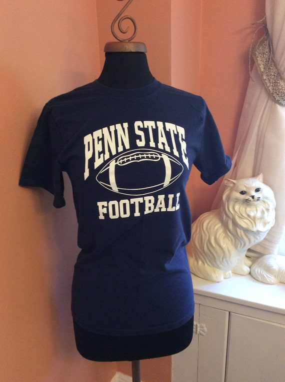Vintage Penn State Football T-Shirt (A796)