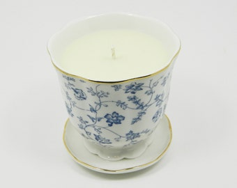 Tea Cup Soy Candle, Scented Soy Candle, Soy Candle, Scented Candle, Mothers Day Gift, Birthday Gift, Home Decor