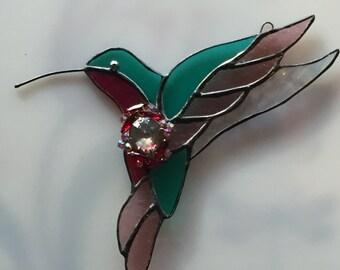 Hummingbird Stain Glass
