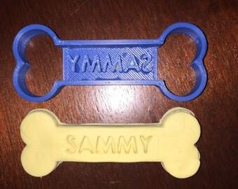 Custom Dog Bone Cookie Cutter!