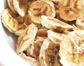 Organic Dried Banana Chips No Sugar Added Oil Free