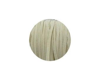 3mm Ivory Skinny Headband Elastic - 1 Metre, 5 Metres, 50 Metre Roll