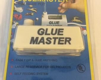 Vintage New NIP Jobar's Gluemaster Hot Glue Pot - Electric Glue Gun - Includes 2 Glue Sticks