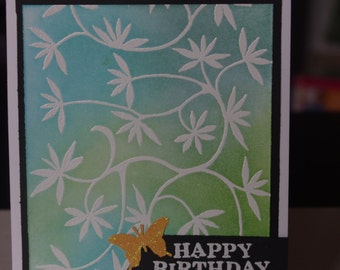 Birthday card - Butterfly