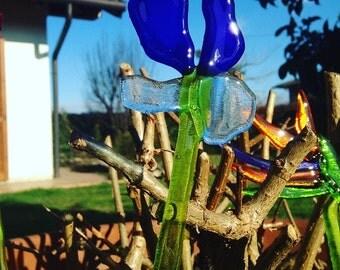 Flowers Murano glass