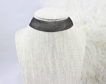 Sheer Thick Choker (Black OR White)