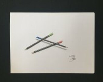 Drawing - Coloured Pencils #1