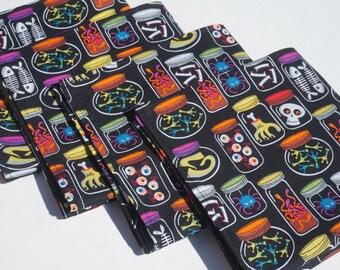 Monster napkins etsy for Halloween cloth napkins