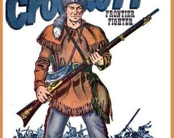 Davy Crockett # 11  8 x 10 - T Shirt Iron On Transfer