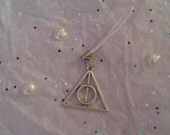 Harry Potter Deathly Hallows Phone Charm