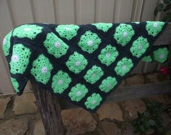 Lap sized Crochet Blanket