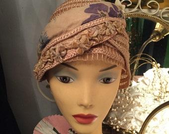 1920s ORIGINAL Flapper Hat