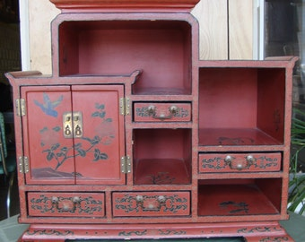 Vintage Asian Style Jewelry Box