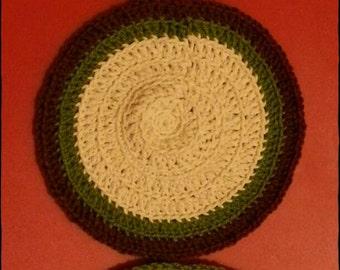 Crochet Placemats & Coasters set
