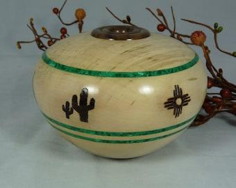 Southwest Style Hollow Form Vase