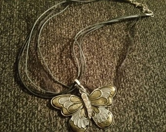 Butterfly necklace free shiping