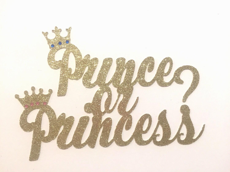Prince Or Princess Baby Shower Gender Reveal Gender Reveal