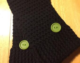 Handmade Crocheted Fingerless Gloves