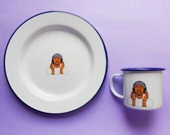 Craig David Mug and Plate Set