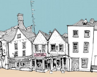 Tetbury - Original Illustration - #bs2andbeyond