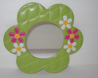 70's Style Flower Mirror