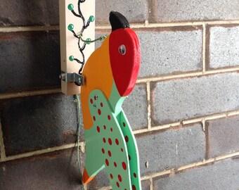 Parrot door knocker ( something different)