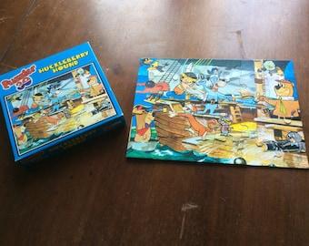 Huckleberry Hound jigsaw puzzle 30 pieces cartoon 1970's