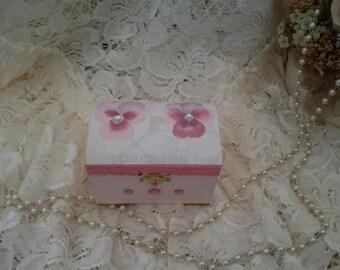 Small Pink Trinket Box