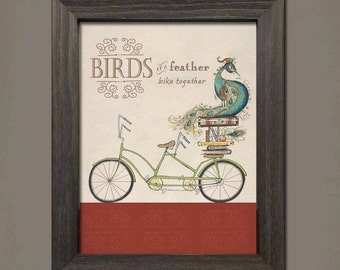 Birds of a Feather by Inklings of an Artist