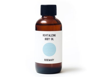 Rosemary Orange Body Oil / Organic Body Oil / Massage Oil / Rosemary Body Oil / Natural Skin Care / Body Moisturizer /All Natural Body Oil