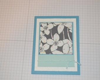 Flower Vellum, blank, all occasion 2pk - Stampin Up
