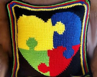Embrace the Amazing Autism Awareness Pillow