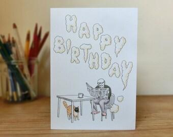 Farting Birthday Card