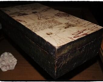 BOXES IMITATION LEATHER