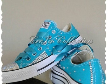 Bling Converse, Custom Converse, Design Converse, Custom Womens Converse, Womens Bling Converse, Sparkly Converse, Bling Shoes