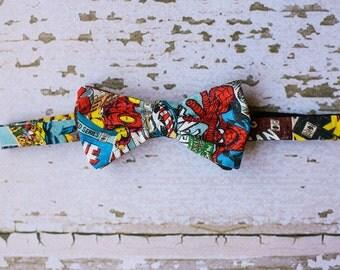 Mens Avenger Bow Tie