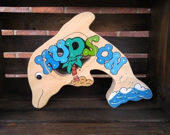 Wooden Dolphin  Bank