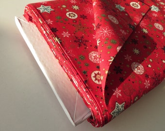 Fabric patchwork Christmas